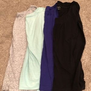 4 Long Sleeve LOFT Tops